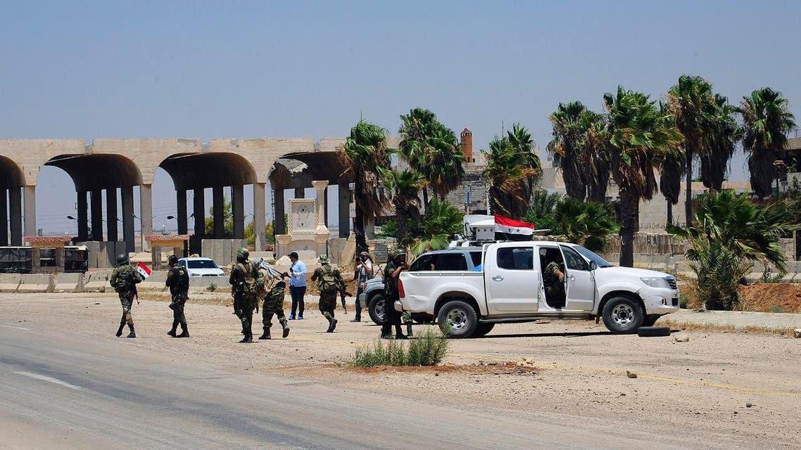Syria jordan border. (File photo: AP)