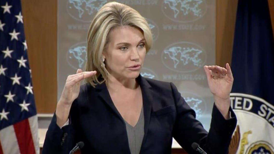 US State Department spokeswoman Heather Nauert