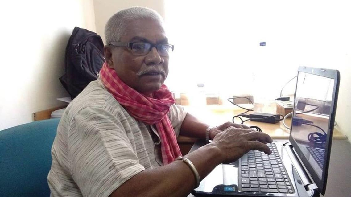 Manoranjan Byapari, 66, is under the spotlight after clinching a staggering14-book contract. (Supplied)