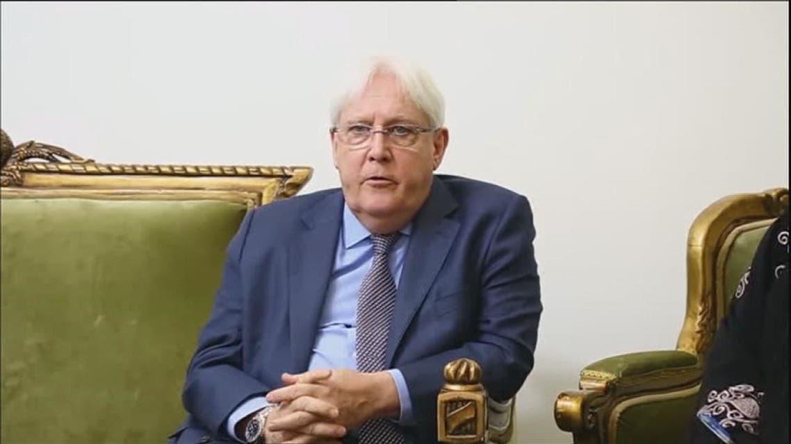 غريفيث يسعى لاقناع ميليشيات الحوثيين بالمفاوضات