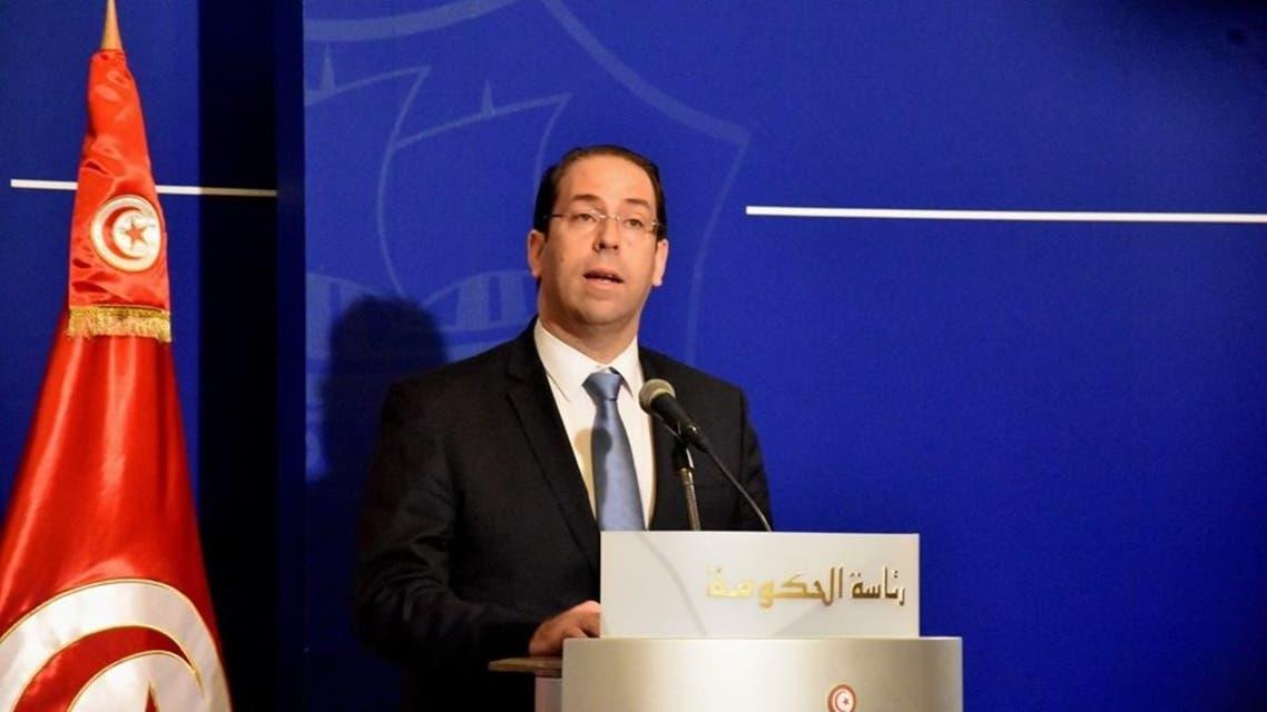 رئيس الحكومة التونسي يوسف الشاهد