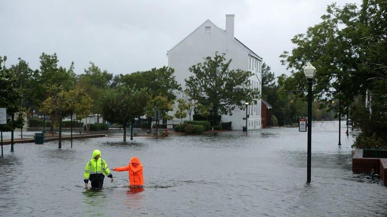Hurricane Florence Lashing Carolinas With Heavy Rain