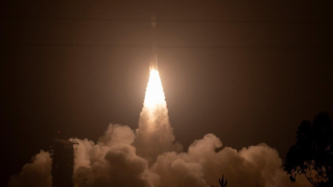 United Launch Alliance Delta II rocket, with the NASA Ice, Cloud and land Elevation Satellite-2 (ICESat-2) onboard launches. (Reuters)
