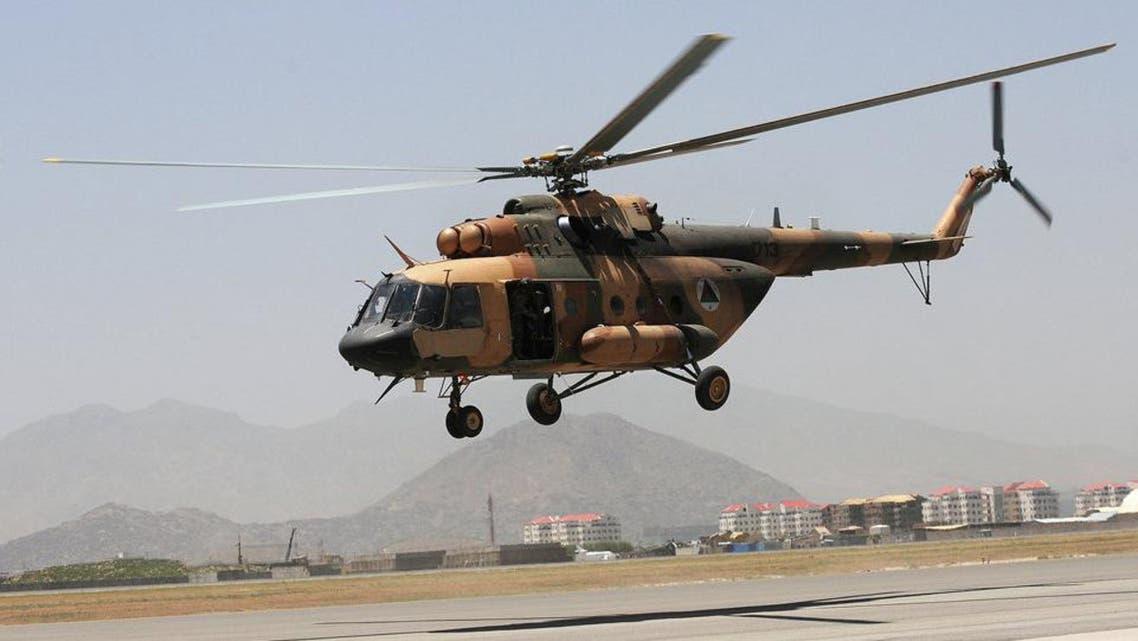 سقوط یک چرخبال ارتش افغانستان؛ یک خلبان و سه نیروی هوایی افغان کشته شدند