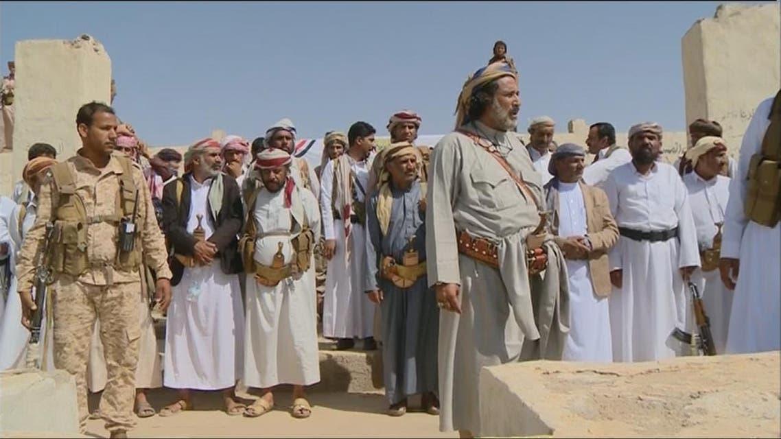 THUMBNAIL_ مشائخ قبيلة دهم في الجوف يعلنون دعمهم للشرعية
