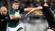 Springboks shock All Blacks 36-34 in Rugby Championship