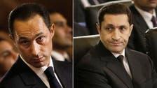Egypt arrests Alaa, Gamal Mubarak for alleged stock manipulation