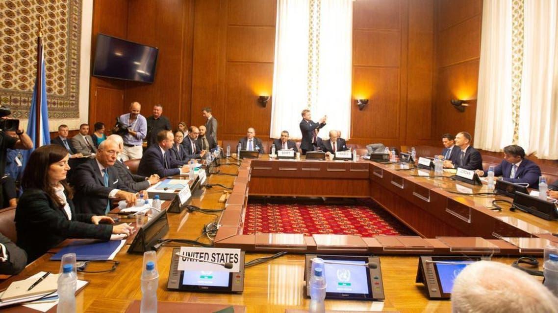 مذاکرات ژنو درباره کمیته قانون اساسی سوریه به جایی نرسید