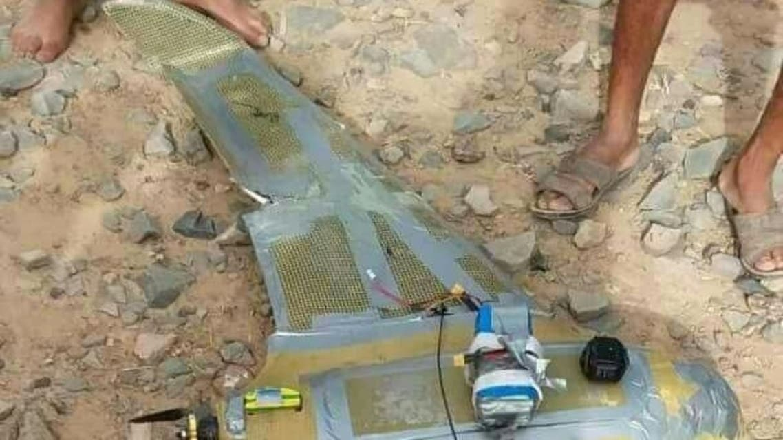 الجيش اليمني يسقط طائرة مسيرة للحوثيين بصنعاء