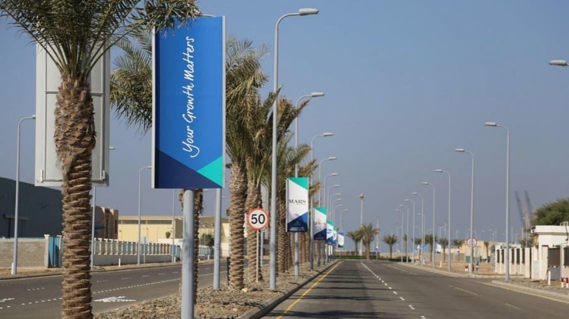مدينة الملك عبدالله الاقتصادية الوادي الصناعي