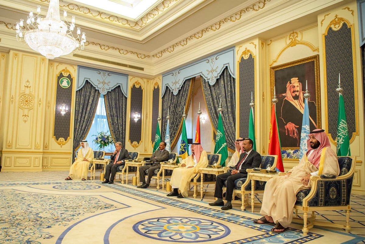 IN PICTURES: Historic Ethiopia-Eritrea peace accord signed in Jeddah 3