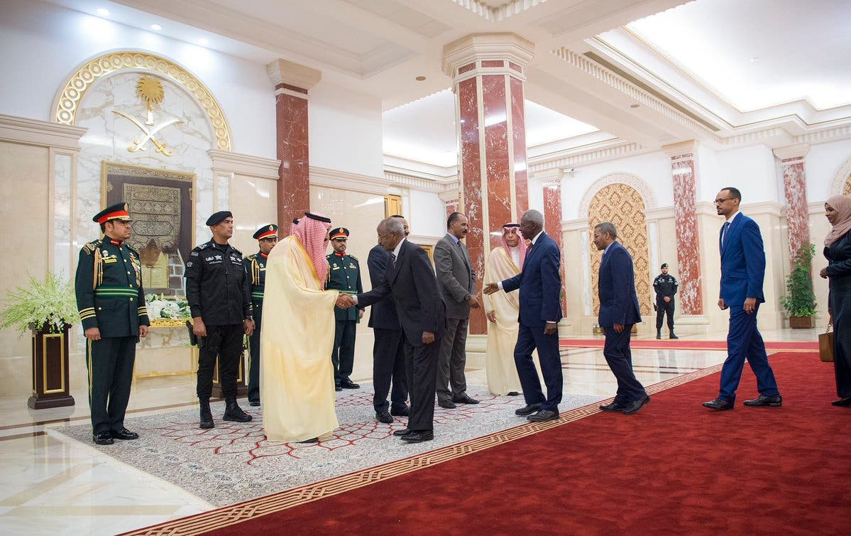IN PICTURES: Historic Ethiopia-Eritrea peace accord signed in Jeddah 5
