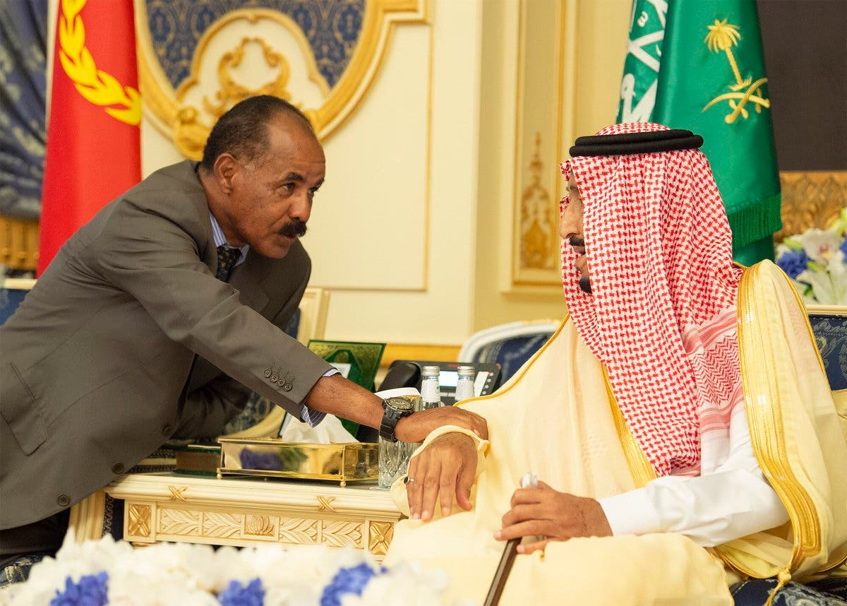 IN PICTURES: Historic Ethiopia-Eritrea peace accord signed in Jeddah 4