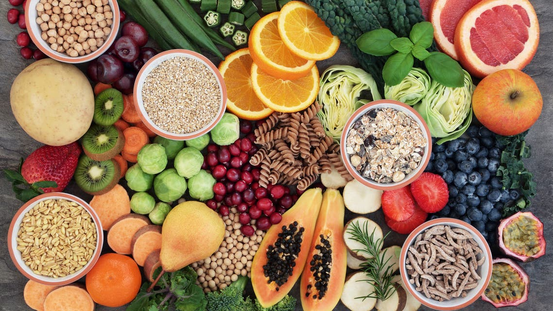 Health Food with High Fiber Content - Stock image