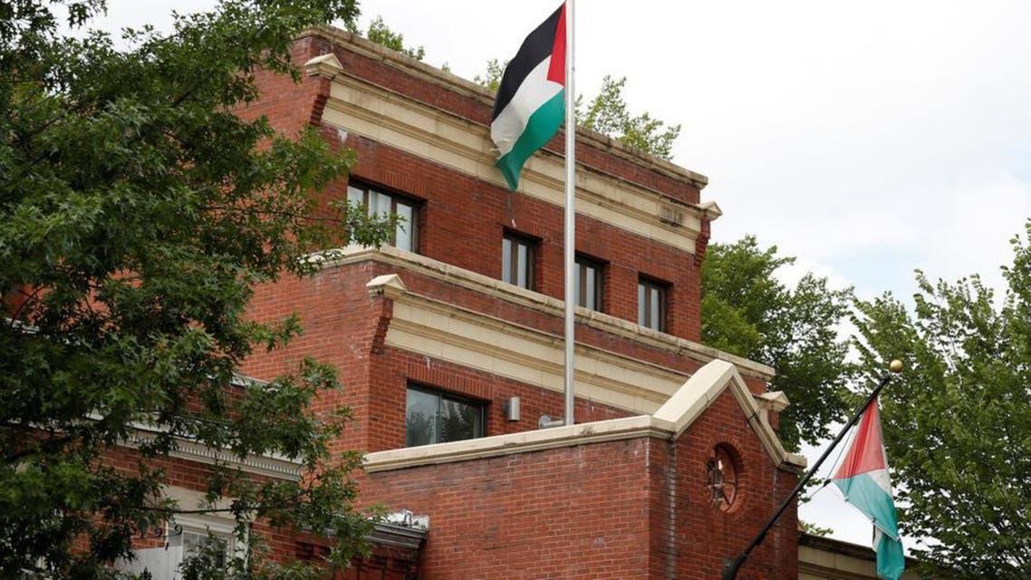 امریکا میں فلسطینی سفارتخانہ