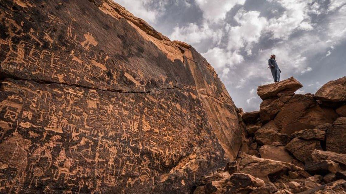 Saudi archaeology. (SPA)