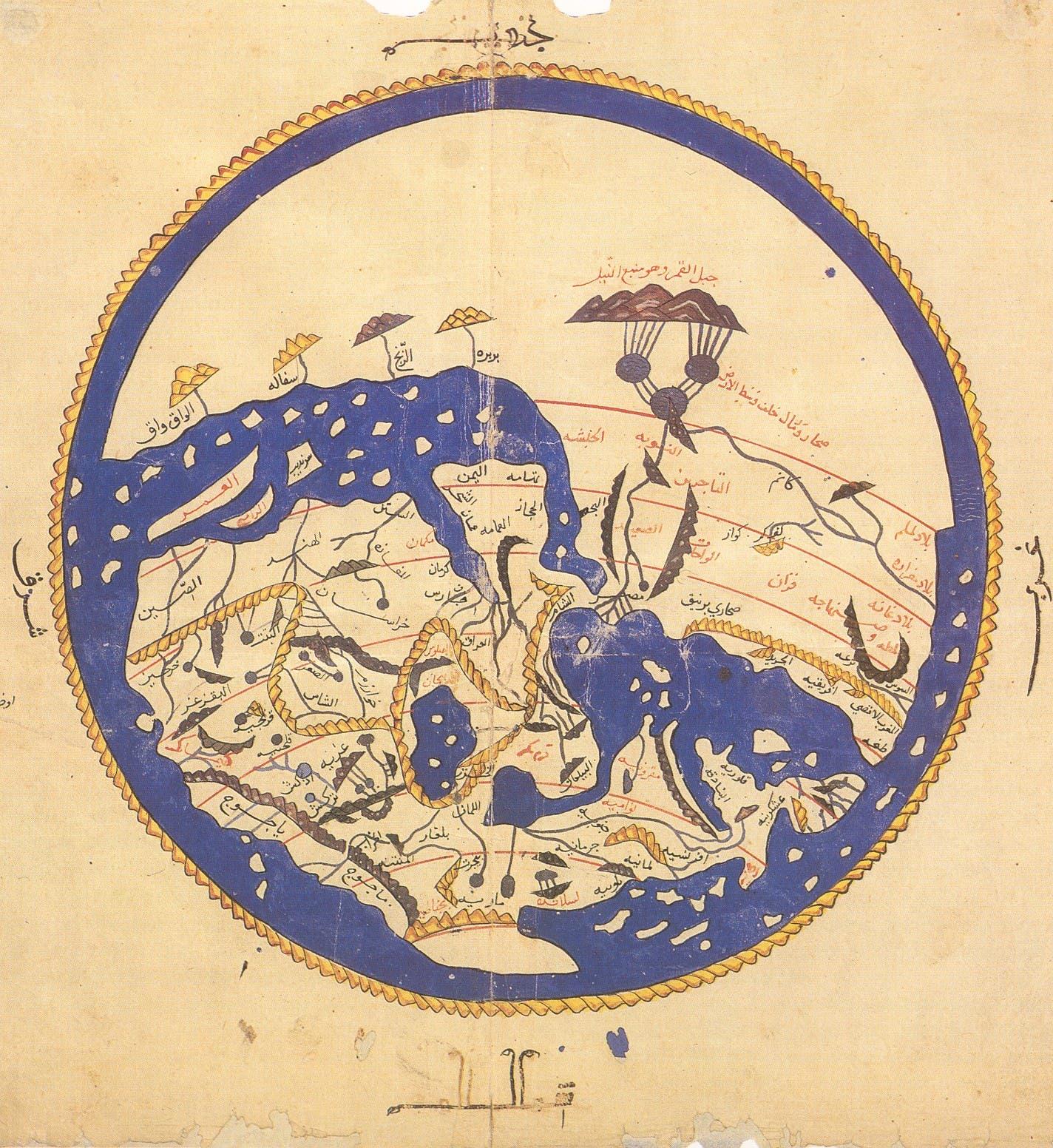 خريطة الإدريسي