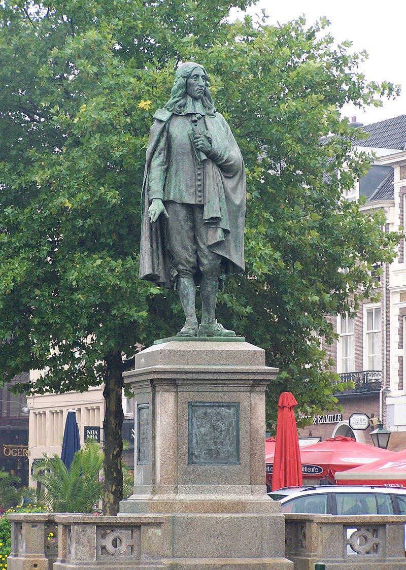 تمثال ليوهان دي ويت تخليدا لذكراه بمدينة لاهاي