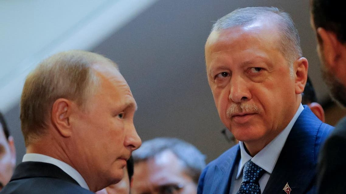 Russian President Putin meets with his Turkish counterpart Erdogan in Sochi. (Reuters)