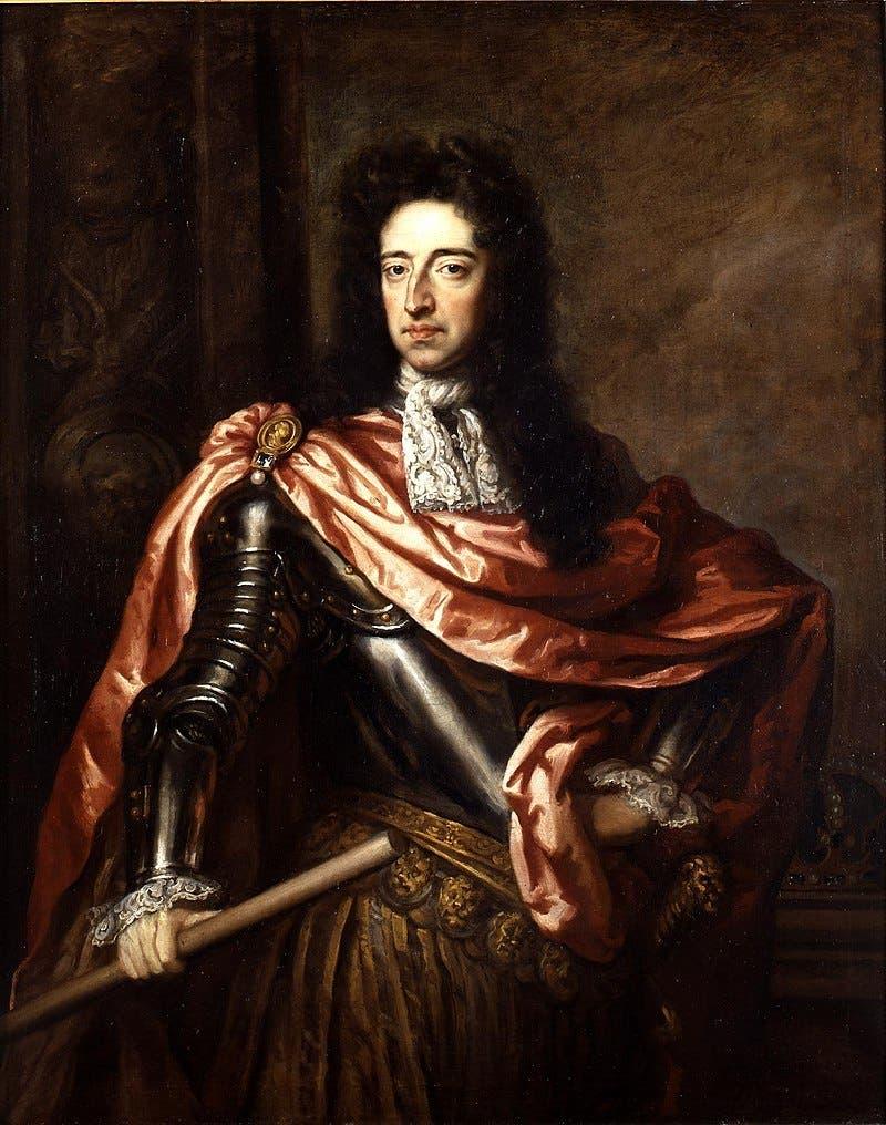 لوحة زيتية تجسد الأمير ويليام الثالث