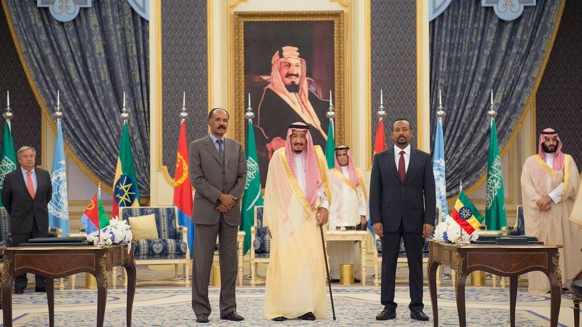 اتفاقية السلام بين إريتريا وإثيوبيا
