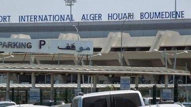 حريق بمطار هواري بومدين في الجزائر..وهذه اللقطات الأولى