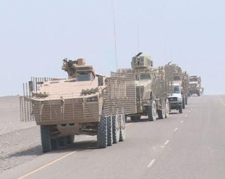 تعزيزات عسكرية إلى كيلو 16