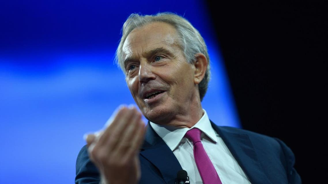 Tony Blair speaks at The 2017 Concordia Annual Summit at Grand Hyatt New York. (File photo: AFP)