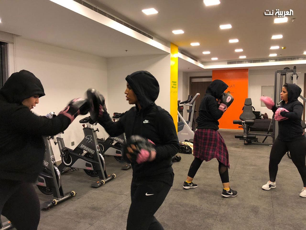 Saudi women put on boxing gloves for sporting glory, self-defense