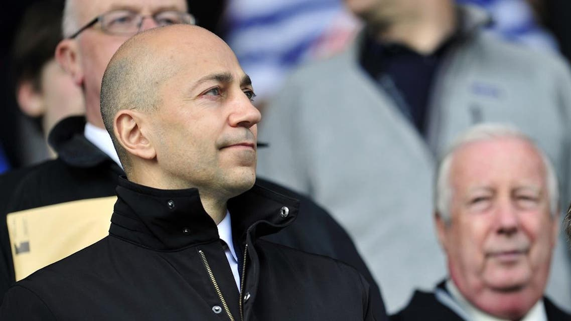 South African Chief Executive Ivan Gazidis looks on before the English Premier League football match between Queens Park Rangers and Arsenal at Loftus Road in London on May 4, 2013. (AFP)