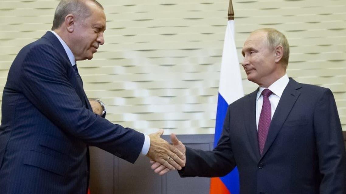 قمة سوتشي بين أردوغان وبوتين حول إدلب