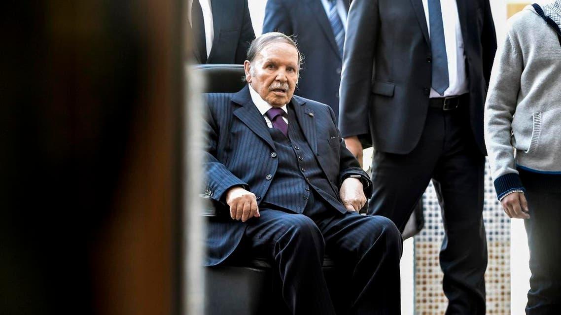 Abdelaziz Bouteflika algeria. (AFP)