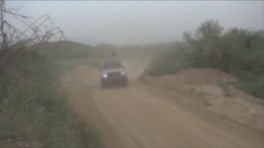 إنزال مظلي للجيش اليمني في جبال مران معقل الحوثيين