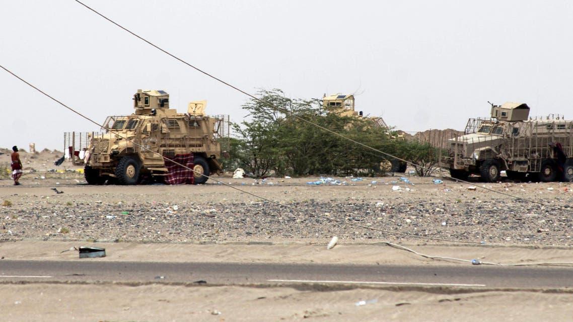 آليات تابعة للجيش اليمني 3