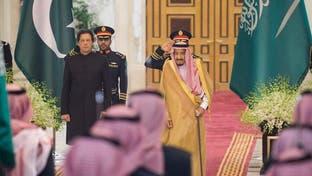 پادشاه سعودی از نخستوزیر پاکستان استقبال کرد