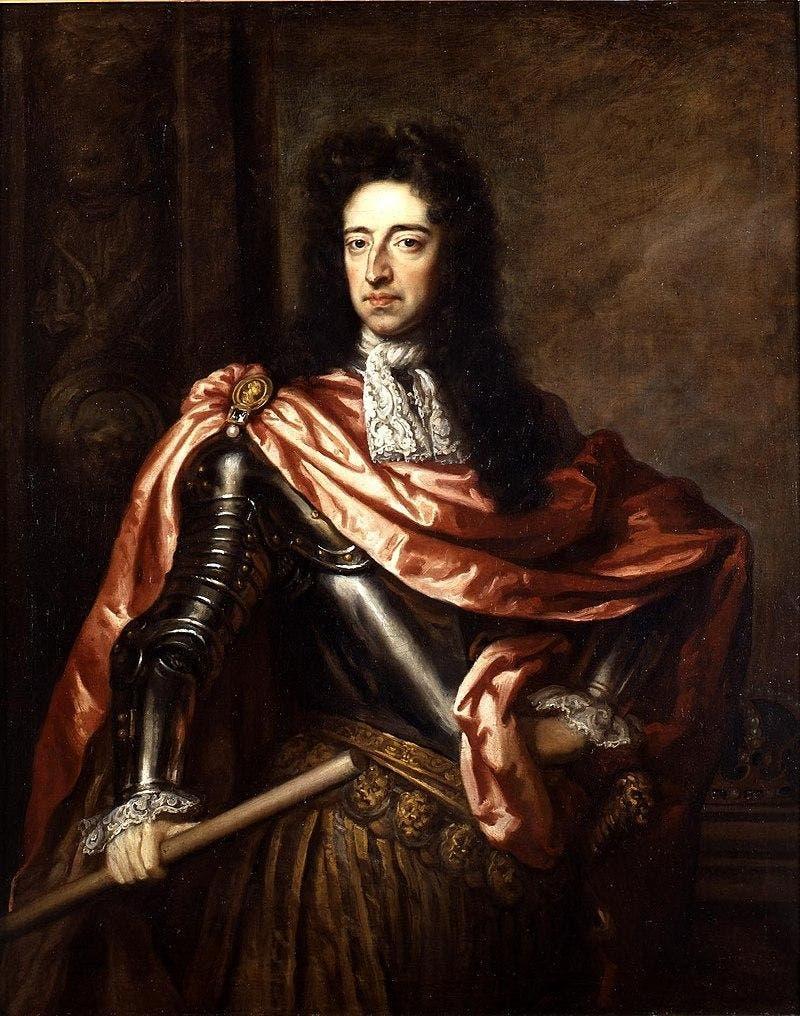 پرترهای رنگ روغن از شاهزاده ویلیام سوم
