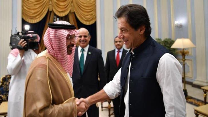 عمران خان کا سعودی وزیر توانائی خالد الفالح سے دوطرفہ تعلقات کے فروغ پر تبادلہ خیال