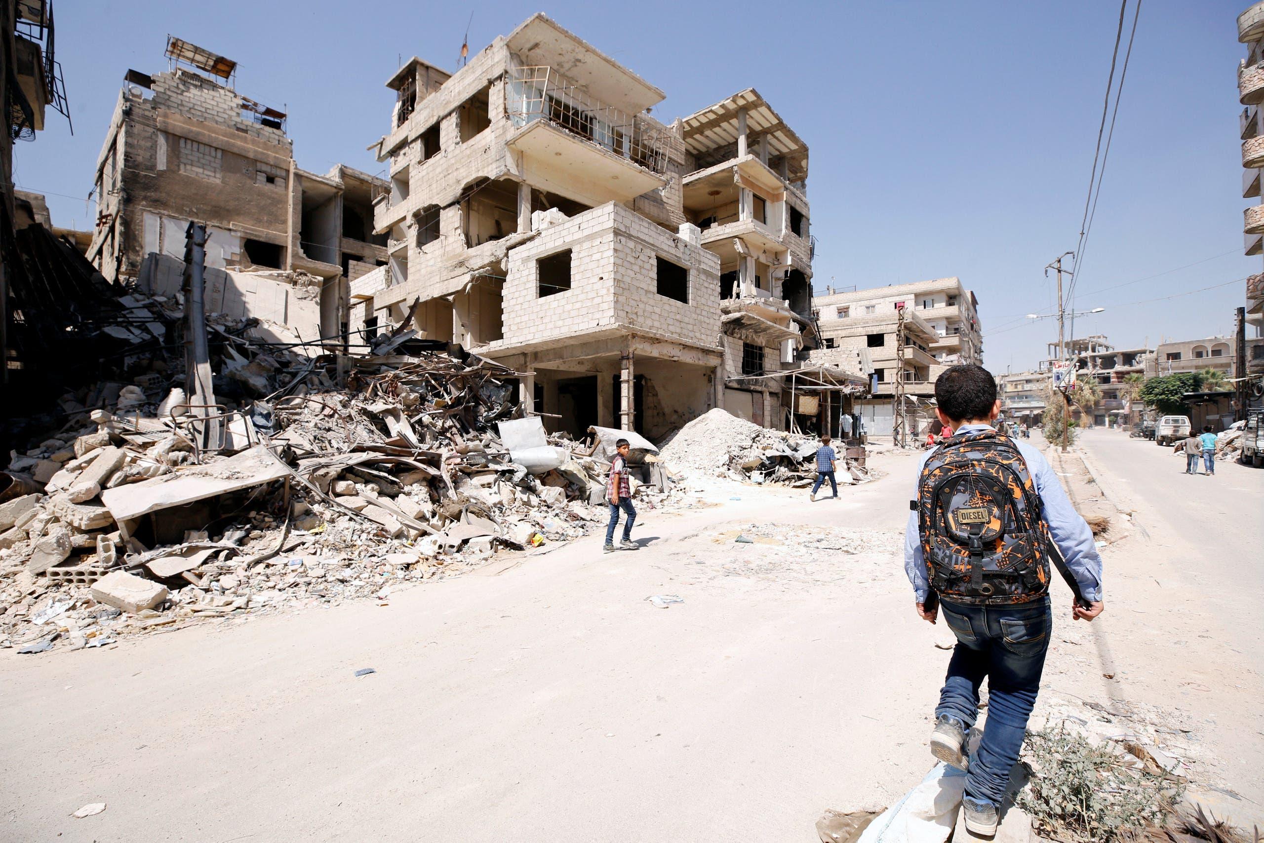 من الغوطة الشرقية (أرشيفية- رويترز)