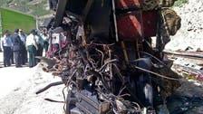 ایران میں آئل ٹینکر اور بس میں تصادم سے 19 افراد ہلاک