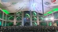 ایران میں محرّم کی مجالسِ عزا حکمراں نظام کے خلاف پلیٹ فارمز