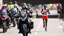 Marathon man Kipchoge, hurdler Muhammad world athletes of year