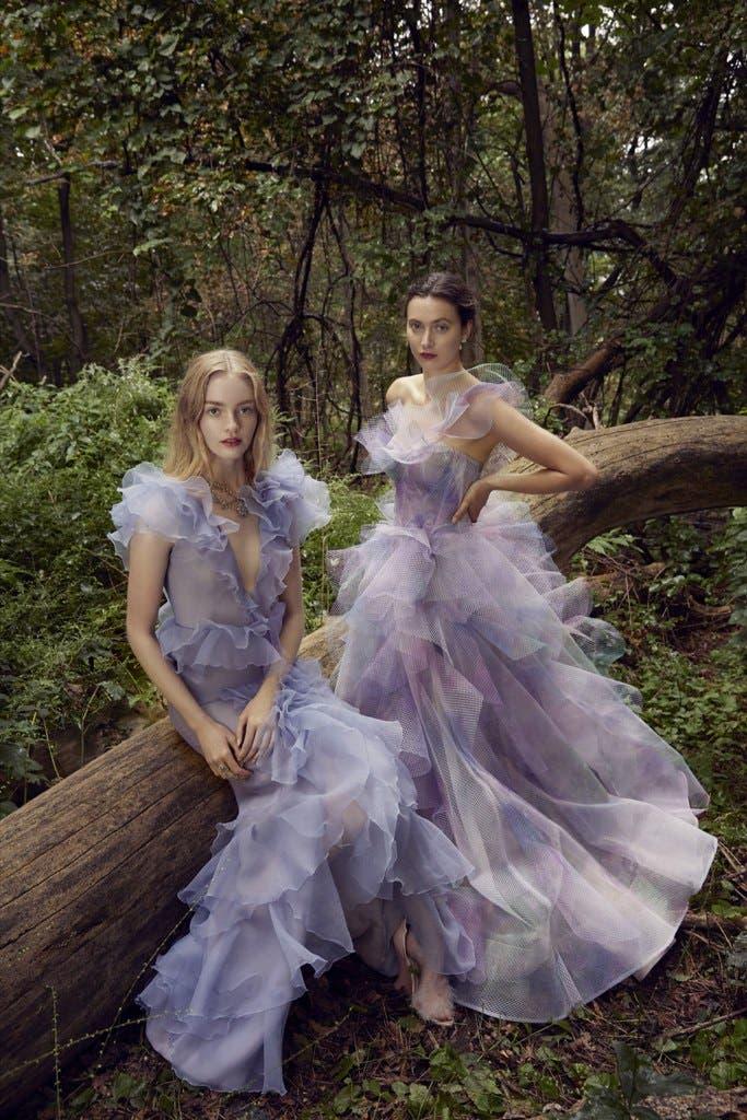 23ebf1ce 9d83 4a56 b81d 29697d8fcaa3 أجمل الفساتين من اسبوع الموضة في لندن،لاطلالة ساحرة!!