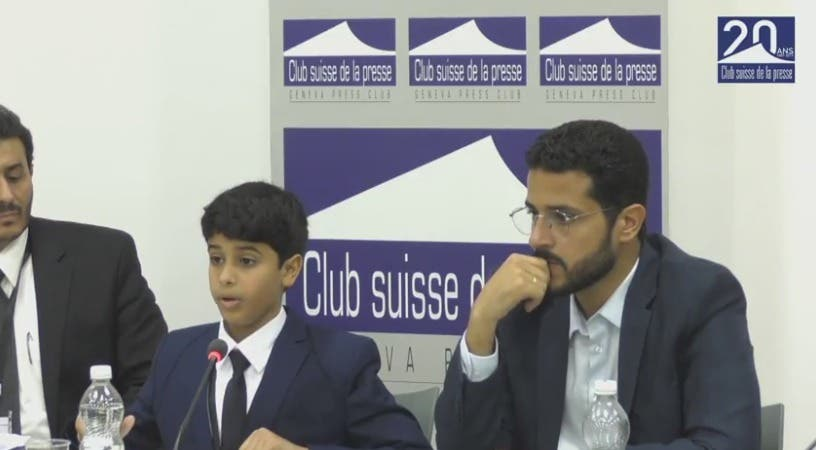 Qatari tribe holds Geneva presser, present evidence of govt rights violations