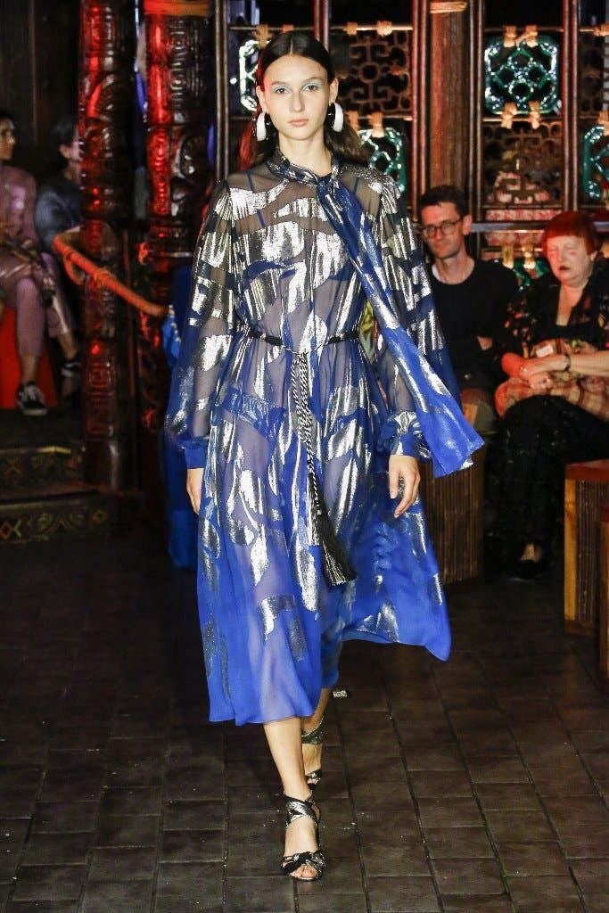ccf4c558 a34b 443e aa24 9c5c830c920a أجمل الفساتين من اسبوع الموضة في لندن،لاطلالة ساحرة!!