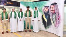 WATCH: Dubai airport takes the lead in starting Saudi National Day celebrations