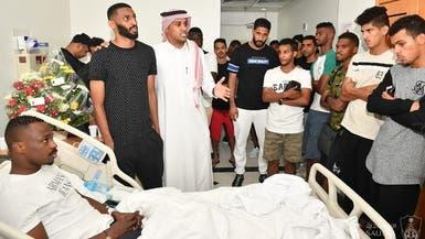 آل الشيخ يوجه بعلاج هوساوي الأهلي خارج السعودية
