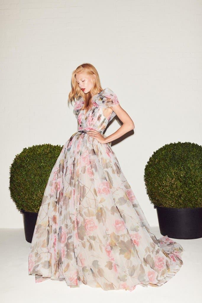 fa7b356f 2bab 456a b6a3 c785d64c3b88 أجمل الفساتين من اسبوع الموضة في لندن،لاطلالة ساحرة!!