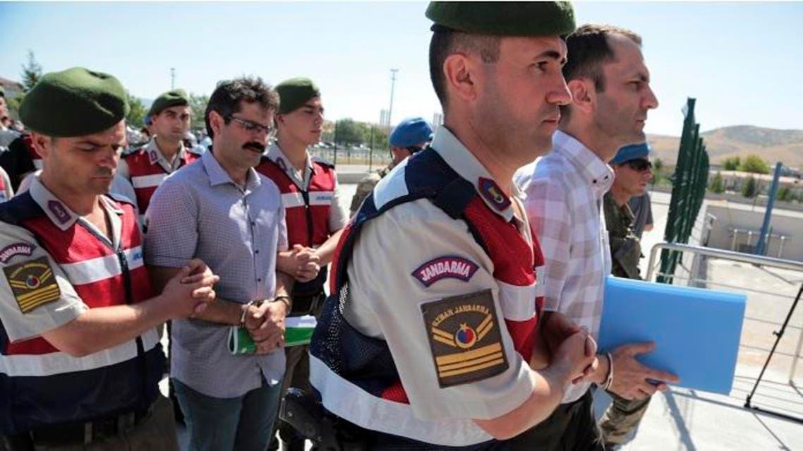 Turkey failed coup arrests (File photo: AP)