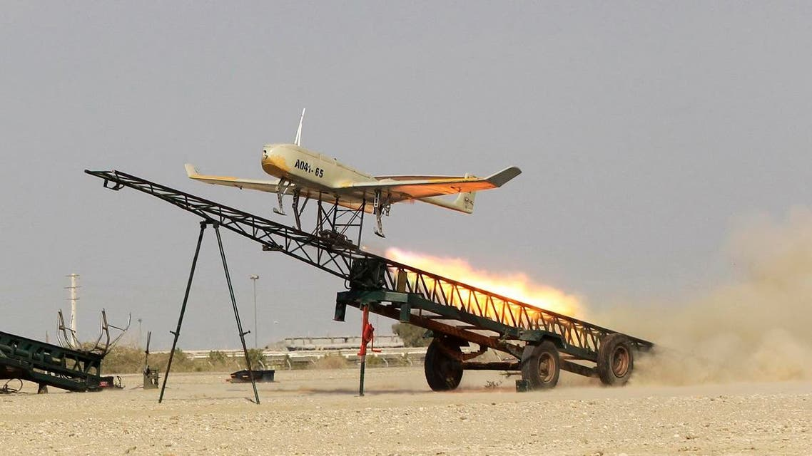 Iran air military drills. (File photo: AP)