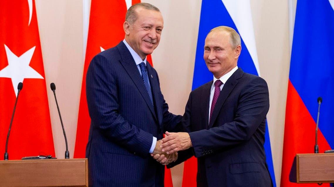 putin erdogan sotchi september 17 (AFP)